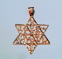 Star of David Pendant, Gold david star, large, 12 Tribes of Israel motif, jewish jewelry, https://www.etsy.com/il-en/listing/557572313/star-of-david-pendant-gold-david-star?ref=shop home active 28 #tlv #party #food #hair #toy #dog #pretty #travel #sky #...