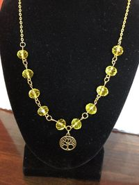 Tree of life beaded necklace $24.00