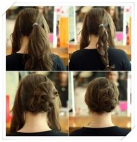 Simply create and rotate our amazing selection of simple updos for long hair style that allow you to play with the hairstyles and save your long hair caring tim