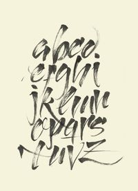 Calligraphy by Xavier Cervelló, via Behance