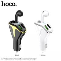 HOCO 18W QC3.0 Dual USB Fast Charging Wireless Headset Car Charger For iPhone XS XR 11 Pro Huawei P30 Pro Mate 30 Xiaomi Mi9 9Pro S10+ Note 10