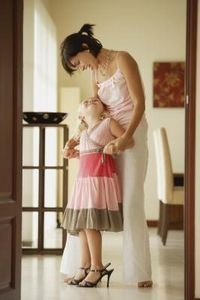 Mothers can bond with their daughter from the time she is an infant through her adult years. According to PsychologyToday.Com, the bond between a mother and dau