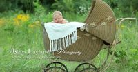 baby carriage newborn portrait...one of my favorite photographer's: Kari Layland Photography
