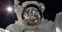 Orbiting Astronaut Self-Portrait Image Credit: Expedition 32 Crew, International Space Station, NASA Earlier this month, space station astronaut Aki Hoshide (Japan) recorded this striking image while helping to augment the capabilities of the Eart...