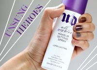 This stuff makes my makeup stay all day long on my super oily skin! Urban Decay All Nighter Makeup Setting Spray