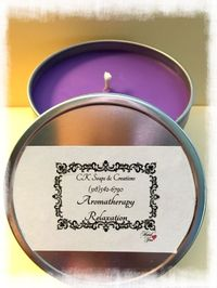 Aromatherapy Relaxation Candle https://cksoapsandcreations.ecwid.com/#!/Aromatherapy-Relaxtion/p/69902346/category=20599072 Find me on Facebook @ Facebook.com/CKCREATE