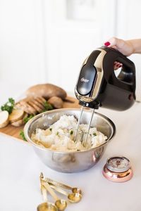 [ad] Whisk your way to fluffy mashed potatoes with the Oster® 5-Speed Hand Mixer!