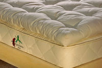 Buy Bahia Honda organic mattress protrector made up of blend of organic wool and Pure Northwest Eco Wool