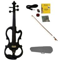 Merano MVE10BK 4/4 Full Size Fitted Electric Silent Violin
