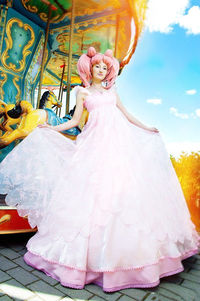 Sailor Moon - Chibiusa cosplay! I love how pink and beautiful that dress is-I LOVE RUSSIAN COSPLAYERS!!!