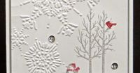 Add Ink and Stamp: White Christmas CCMC328 Stampin' Up!