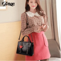 ZMQN Bags Women's Red Shoulder Bags For Women 3 Space PU Leather Handbags Lady Small Bag 2019 China Brands Bolsa Feminina A565 $59.48