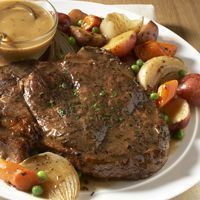 Classic Beef Pot Roast with Root Vegetables (use boneless beef chuck shoulder, arm or blade pot roast) -Fareway