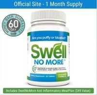SwellNoMore is a Natural Diuretic and Anti-Inflammatory tablet that reduces Water Retention, Inflammation and Swelling (Edema) throughout the entire body. Just two supplements daily will dramatically reduce puffiness, bloating and swollen legs, an...