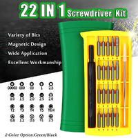 22 in 1 Repair Toolkit Electronics Smartphone Tablet Computer Precision Screwdriver Kit