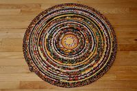 """Round Rope Rug or Table Topper / 28 ½"""" Diameter $59.99"""