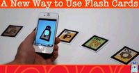 The AR Flashcard app is an augmented reality app that gives you a new way to use flash cards when teaching toddlers and preschoolers!