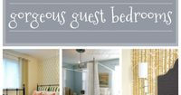 Stenciled Guest Bedroom Ideas to Make Your Holiday Guest Feel More Welcomed Good morning, my happy holiday hosts. We bet you've been busy bees stenciling all th