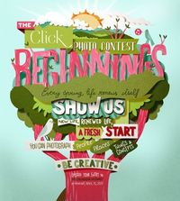 Beginnings for Click Magazine by Bomboland , via Behance