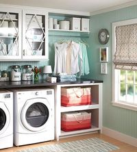 Laundry room cabinets give you more storage and style out of your washer-dryer space. Design smart laundry room cabinetry with our helpful tips.