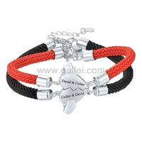 Gullei.com Magnetic Hearts Couple Bracelets Christmas Gift