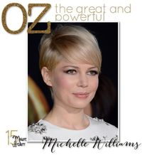 Michelle Williams' Makeup at Oz the Great and Powerful