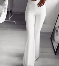 Party Office Summer Autumn Elegant Women's Flared Pants,NEW,on Sale! More Info:https://cheapsalemarket.com/product/party-office-summer-autumn-elegant-womens-flared-pants/
