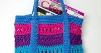 Free Crochet Pattern for X St Market Bag by Pattern-Paradise.com