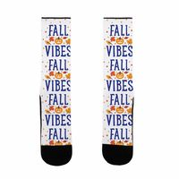 Fall Vibes US Size 7-13 Socks $16.99 �œ�Handcrafted in the USA! �œ�