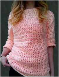 Boardwalk Crochet Sweater with Free Pattern
