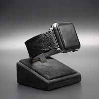 Apple Watch Band Classic LV Monogram Eclipse Graphite $125.00