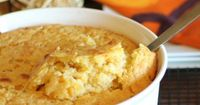 Cornbread casserole is a perfect side dish for the holidays.