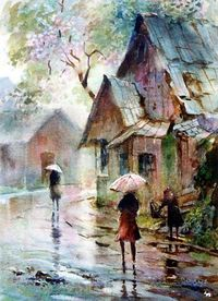 Watercolor LaVere Hutchings