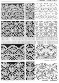 crochet stitches, stitch patterns and stitches.