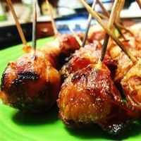 Bacon-Wrapped New Potatoes | �€œThese were so delicious. I put them on metal skewers rather than the toothpicks. It worked great.�€