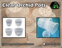 Want to buy clear orchid pots without spending lots of money? Then Green Barn Orchid may be just the answer for you. You will get strong and durable orchid pots from our store by which you can quickly check plant roots for rot or infestation. It also allo...