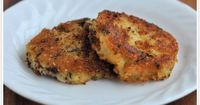 Parmesan Crusted Fried Mashed Potato Cakes