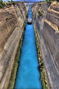 The Isthmus Canal, Greece
