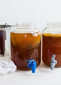 Learn how easy it is to create a continuous brew kombucha system at home that saves money and lets you create your own fruit flavors from HelloGlow.co