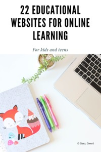 22 Awesome Educational Resources so you can learn from home!