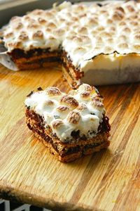 Smore Brownies...no campfire necessary
