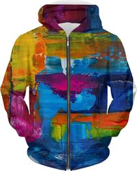 Acrylic All Over Hoodie $89.00