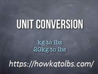 Kg to lbs converter is a very smart and convenient system of formulas that is able to convert any value of kilograms to pounds and another way around.https://howkgtolbs.com/