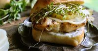Grilled Hawaiian Chicken Sandwich - WOW this looks amazing!