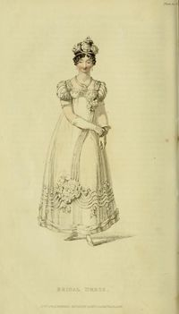 Bridal Dress - Jan. 1818