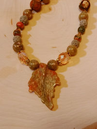 24 1/2 inch 3 piece Jewelry Set Carved Autumn Jasper Gemstone DZI style etched Agate Crystals Lava Beads Aromatherapy Unakite Antique Gold $25.00