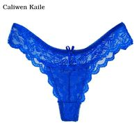 Underwear women thongs bragas sexy panties women thong lace t word pants ladies briefs New fashion and best sale $1.99
