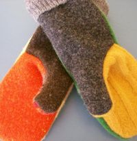 Upcycled Mitten Pattern