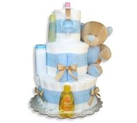 It's A Boy! 3 or 4 Tiers Diaper Cake