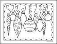 Christmas coloring pages--some more sophisticated colouring pages for older kids or even grown ups!